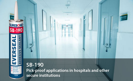 SB-190 Everseal: Pick-proof applications in hospitals and other secure institutions
